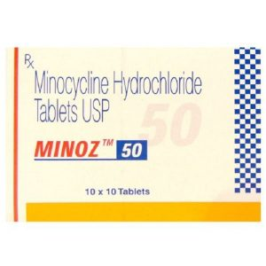 Minoz 50 mg (Minocycline)